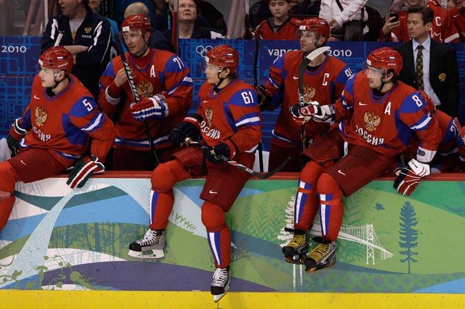 Дебют хоккейной сборной России. Российские хоккеисты разгромили сборную команду Латвии.
