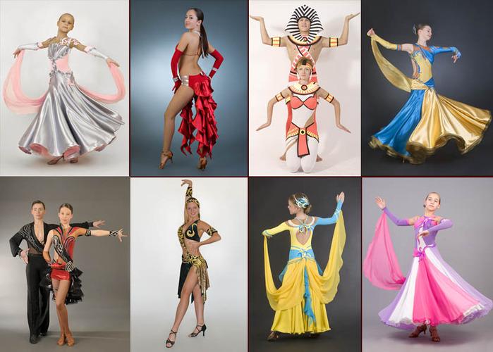 костюмы для танцев