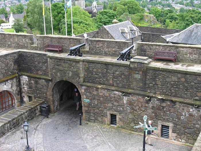 Замок Стерлинг, Шотландия 78621