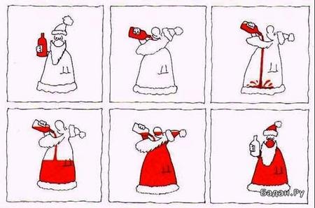 Дед Кока-кола. Схемы.