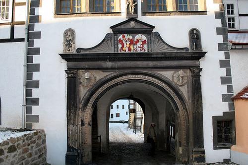 Замок Лауенштайн (нем. Schloss Lauenstein)-Erzgebierge,Sachsen 72946