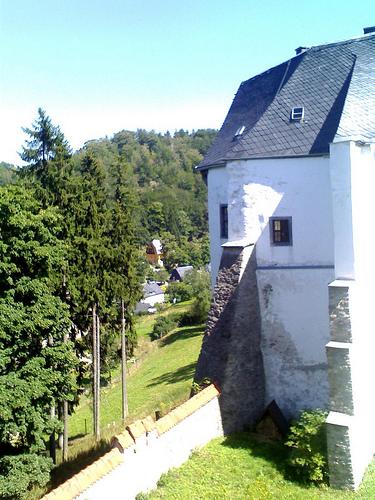 Замок Лауенштайн (нем. Schloss Lauenstein)-Erzgebierge,Sachsen 23488