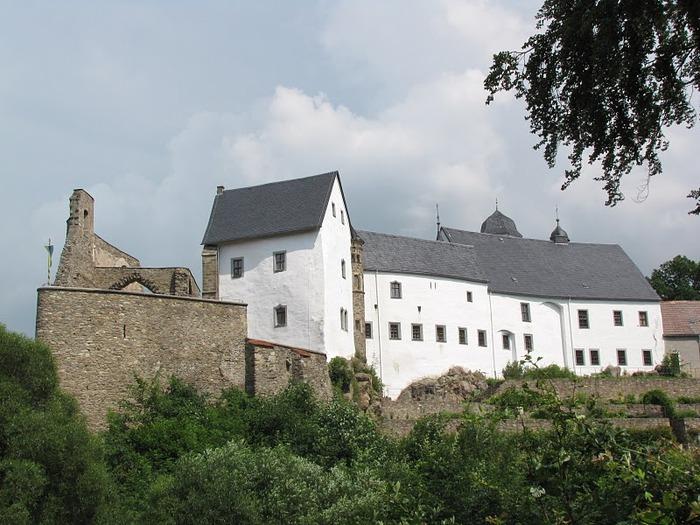 Замок Лауенштайн (нем. Schloss Lauenstein)-Erzgebierge,Sachsen 66356