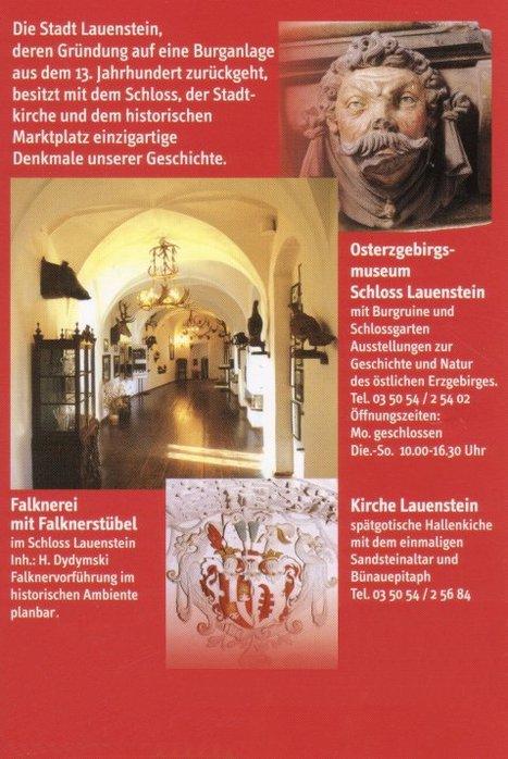 Замок Лауенштайн (нем. Schloss Lauenstein)-Erzgebierge,Sachsen 85753