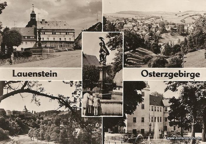 Замок Лауенштайн (нем. Schloss Lauenstein)-Erzgebierge,Sachsen 68682