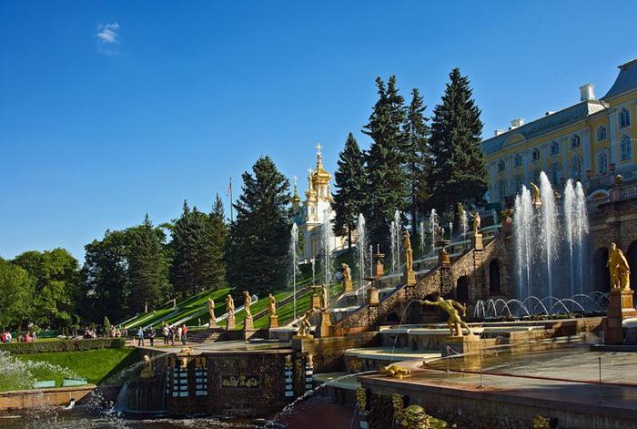 Государственный музей-заповедник Петергоф. Виртуальное путешествие
