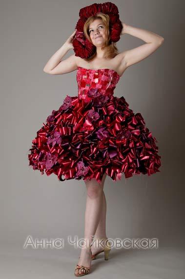 Платье и флористика