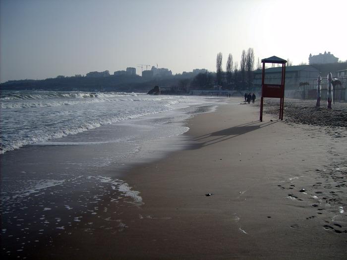 море, отрада пляж