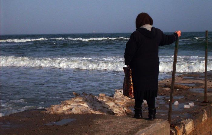 бабушка на море, море снусмумрик