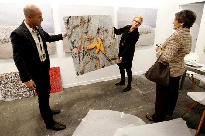 Международные ярмарки современного искусства ARCO 2010 Art Fair в IFEMA, Мадрид, Испания, 17 -18 февраля 2010 года.