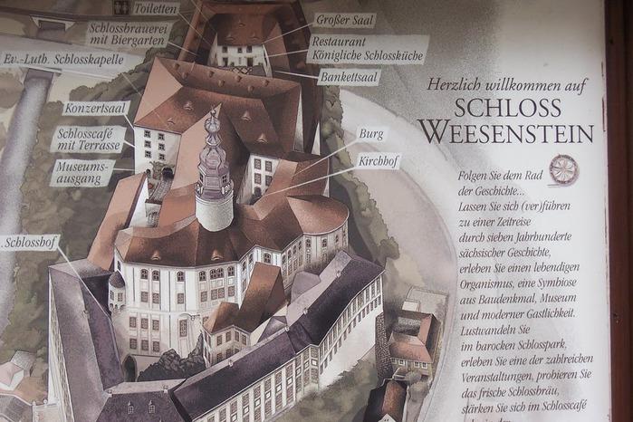 Замок Везенштайн (нем. Schloss Weesenstein) 88849