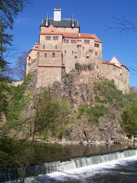 Крепость Крибштайн (нем. Burg Kriebstein) 64115