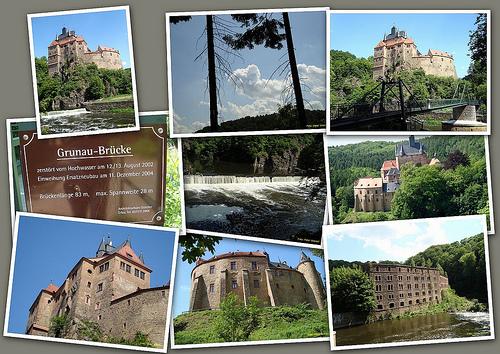 Крепость Крибштайн (нем. Burg Kriebstein) 61984