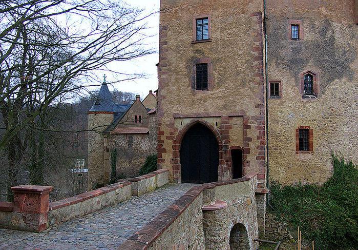 Крепость Крибштайн (нем. Burg Kriebstein) 90260