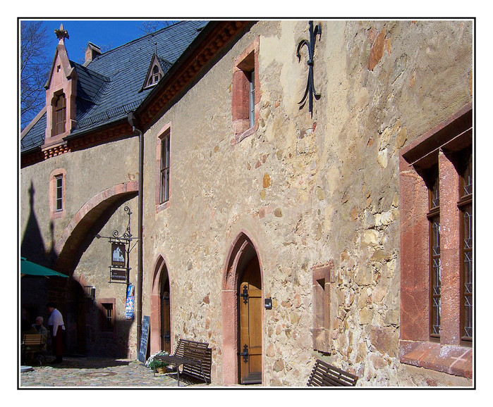 Крепость Крибштайн (нем. Burg Kriebstein) 45941