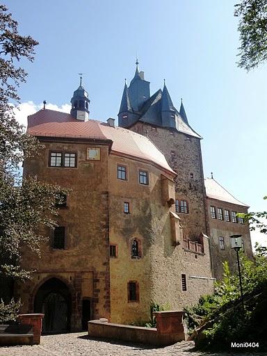 Крепость Крибштайн (нем. Burg Kriebstein) 33875
