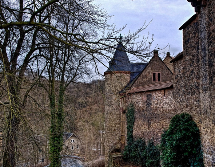 Крепость Крибштайн (нем. Burg Kriebstein) 89468
