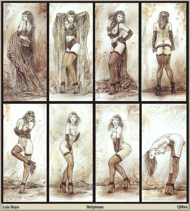 эротика в изобразительном искусстве: