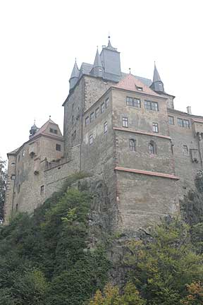 Крепость Крибштайн (нем. Burg Kriebstein) 72204