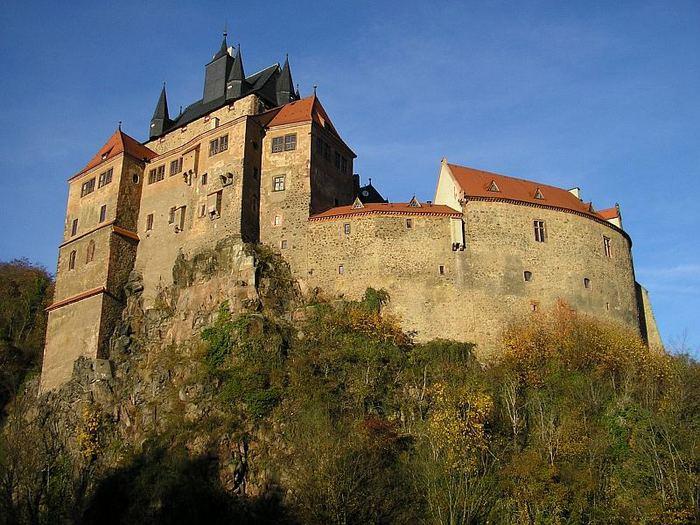 Крепость Крибштайн (нем. Burg Kriebstein) 44031