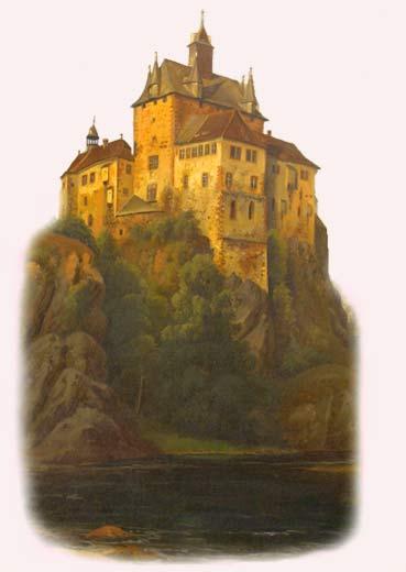 Крепость Крибштайн (нем. Burg Kriebstein) 57862