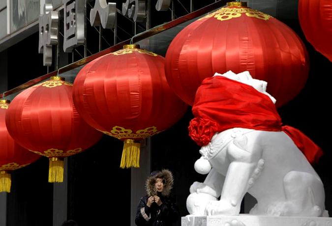 Китай готовится к встрече Нового года.