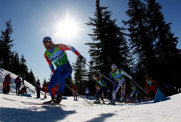 Бронзовый лыжный спринт
