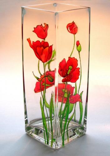 Рубрики: роспись · стекло