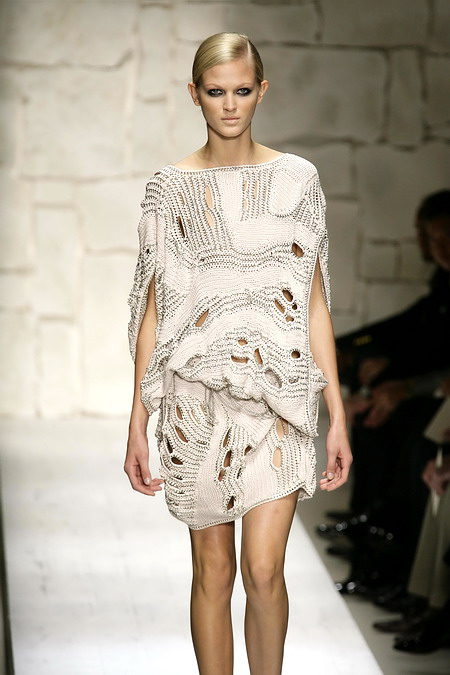Вязание -Модели с подиума без