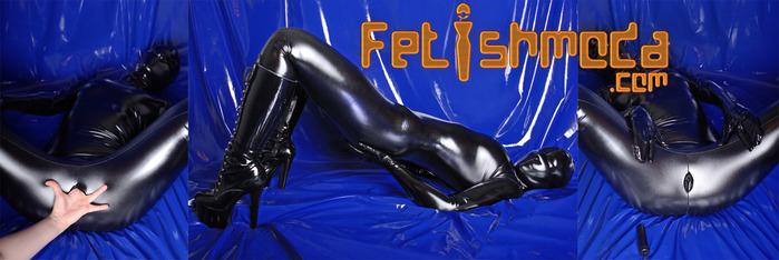 fetish catsuit
