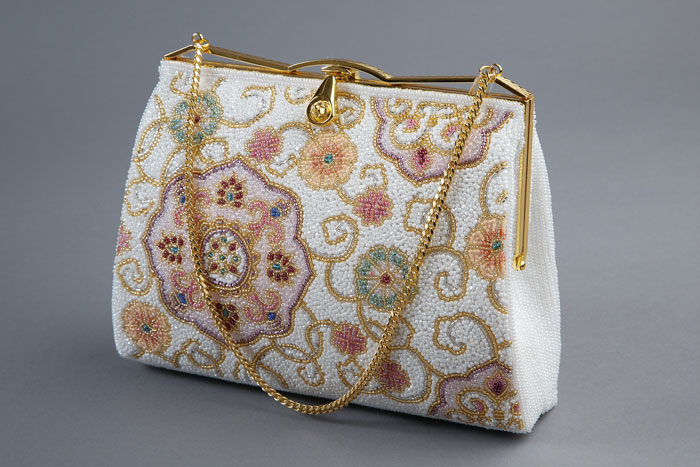 japanese beaded bag