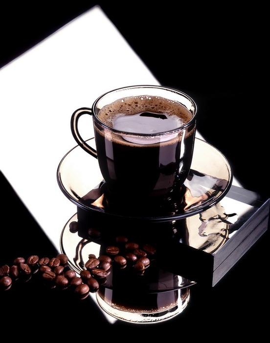 кофе в прозрчной чашке (552x699, 67 Kb)
