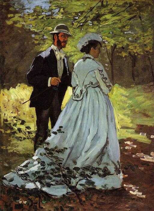 Базиль и Камилла (эскиз к Завтраку на траве