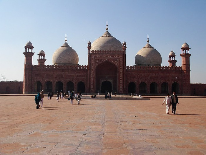 Мечеть Бадшахи (Badshahi Mosque) Лахор, Пакистан 91815