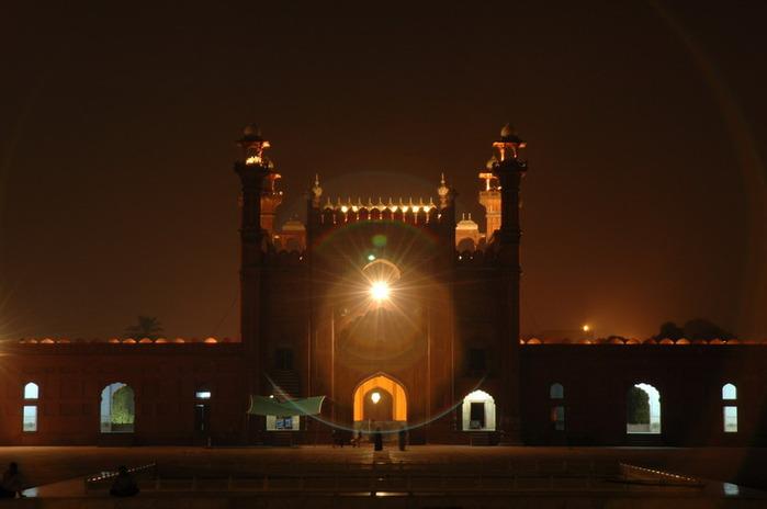 Мечеть Бадшахи (Badshahi Mosque) Лахор, Пакистан 30507