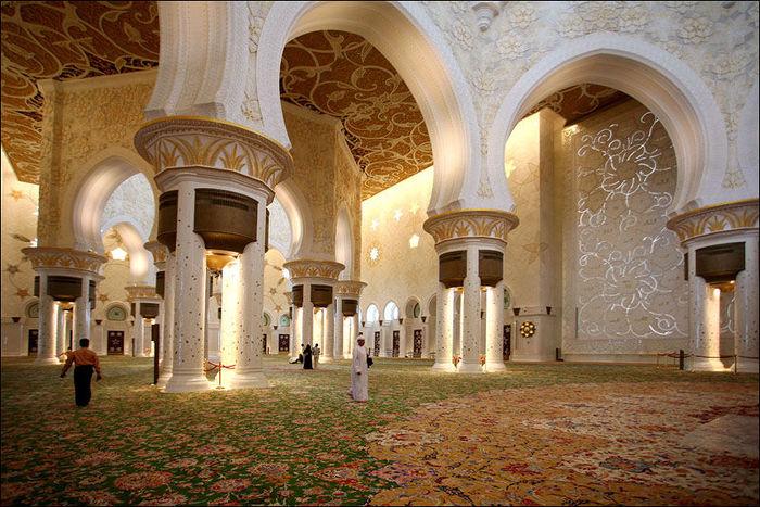 Мечеть Шейха Заида Бин Султана Аль Нахьяна - Sheikh Zayed bin Sultan Al Nahyan Mosque 52526