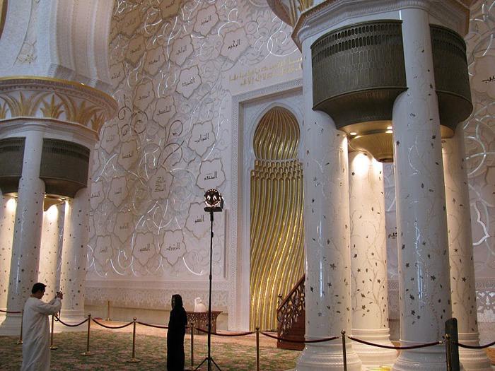 Мечеть Шейха Заида Бин Султана Аль Нахьяна - Sheikh Zayed bin Sultan Al Nahyan Mosque 27183