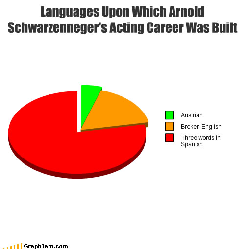 Languages Upon Which Arnold Schwarzenegger's Acting Career Was Built
