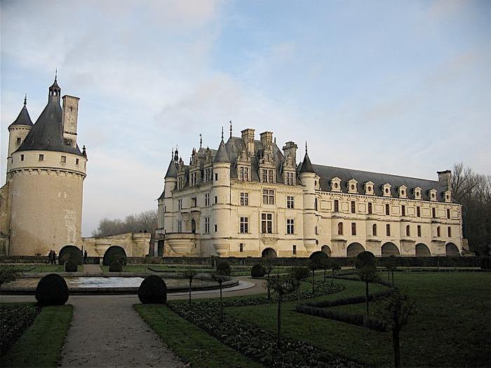 ЗАМОК ШЕНОНСО (Chateau de Chenonceau) 55715