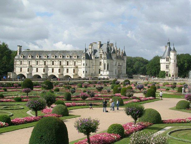 ЗАМОК ШЕНОНСО (Chateau de Chenonceau) 94348