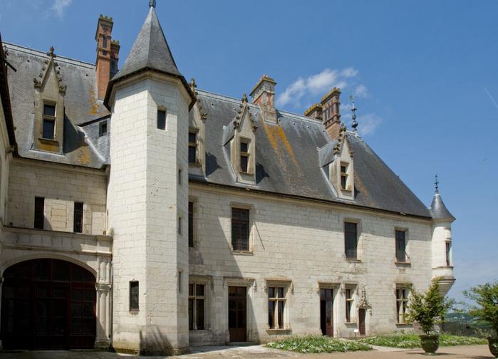 Замок Шомон 95812
