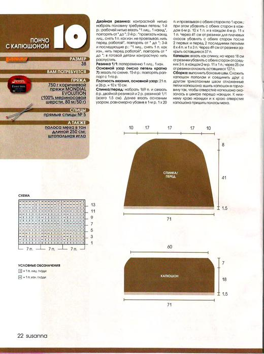 Журнал Сусанна 2/2010. Итальянская вязаная мода