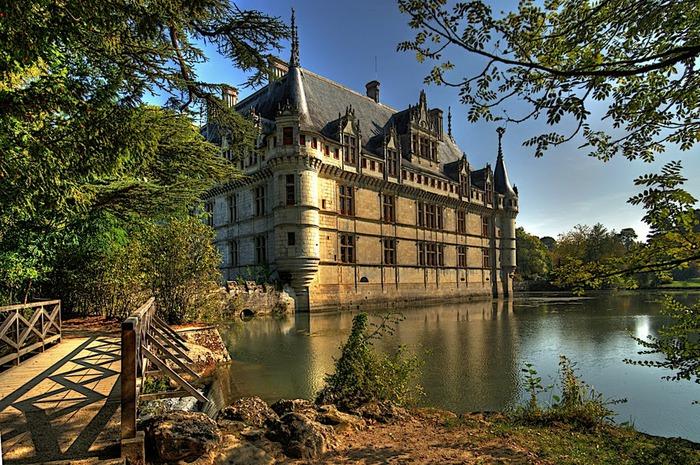 Замок Азе-ле-Ридо-Chateau D'Azay le Rideau 87828