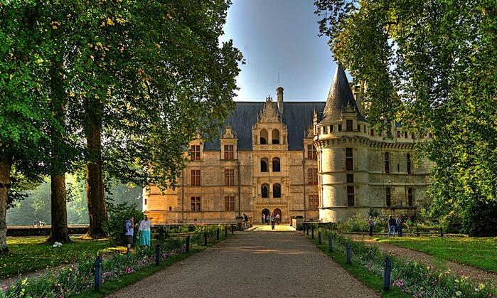 Замок Азе-ле-Ридо-Chateau D'Azay le Rideau 40286