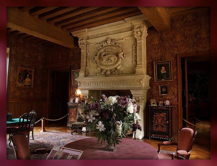Замок Азе-ле-Ридо-Chateau D'Azay le Rideau 19122