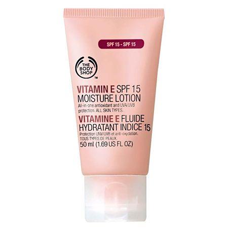 Увлажняющий лосьон для лица с витамином Е
