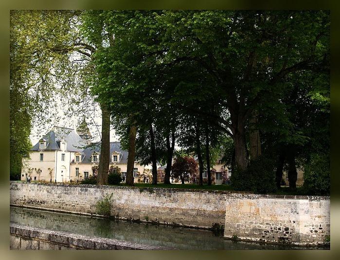 Замок Азе-ле-Ридо-Chateau D'Azay le Rideau 40840