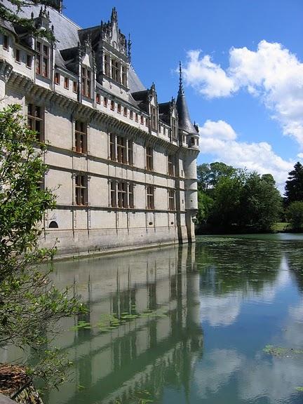 Замок Азе-ле-Ридо-Chateau D'Azay le Rideau 12222