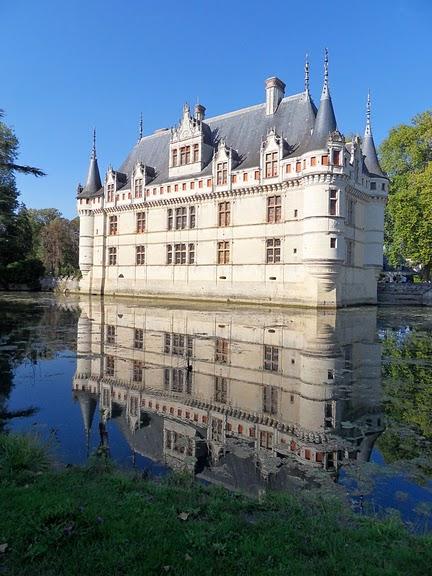 Замок Азе-ле-Ридо-Chateau D'Azay le Rideau 48523