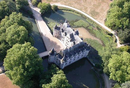 Замок Азе-ле-Ридо-Chateau D'Azay le Rideau 64316